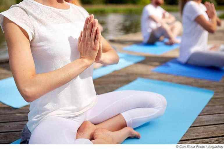 5 Yoga-Übungen zur Entspannung gegen Stress