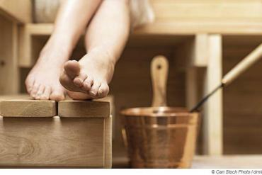 Bei Hygienemangel in der Sauna drohen Krankheiten