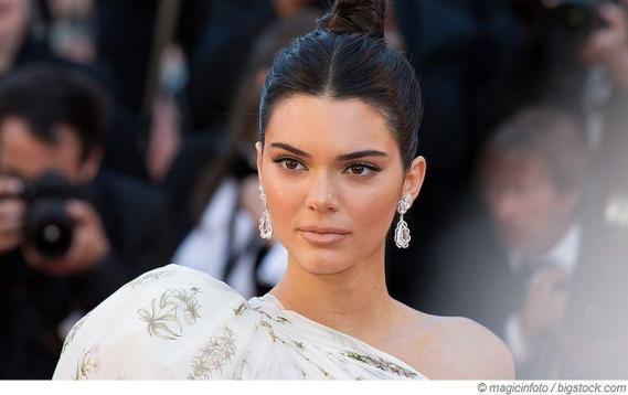 Markellose Haut von Kendall Jenner