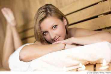 Die Sauna ist der beste Weg um Stress abzubauen