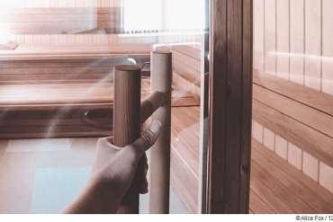 Saunatüren aus Glas oder Holz