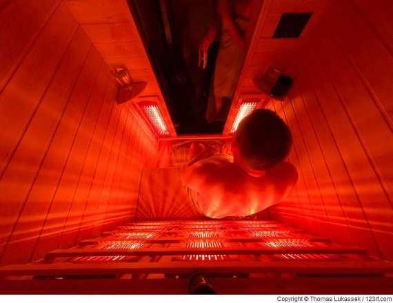 Wie unser Körper auf Wärme in einer Infrarotkabine reagiert