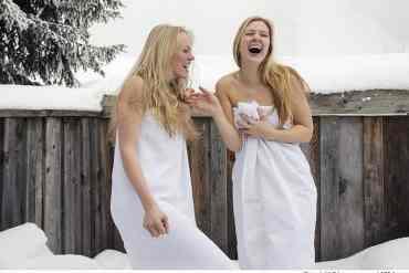 Aus diesem einfachen Grund ist die Abkühlung mit Schnee nach der Sauna gut für Sie