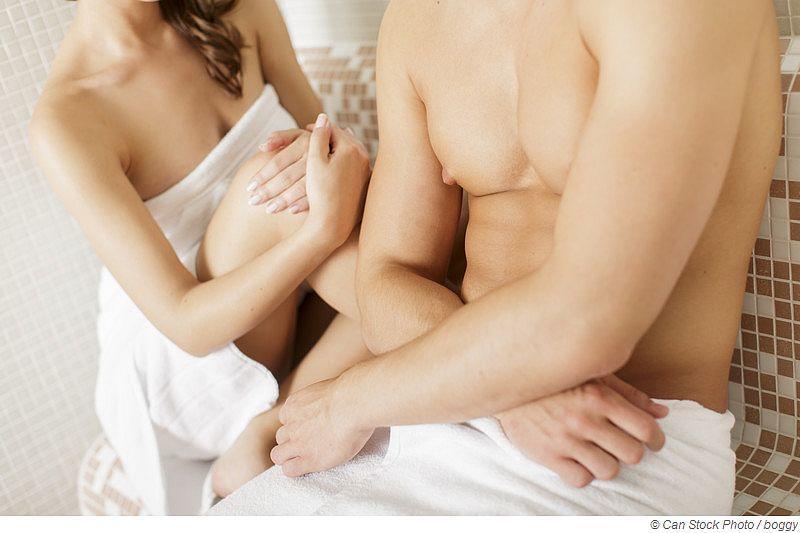 Warum soll man nackt in die Sauna gehen