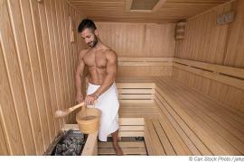 Der finnische Sauna-Dampf