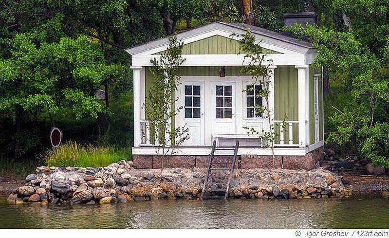 In der Schweden Sauna herrscht gute Laune
