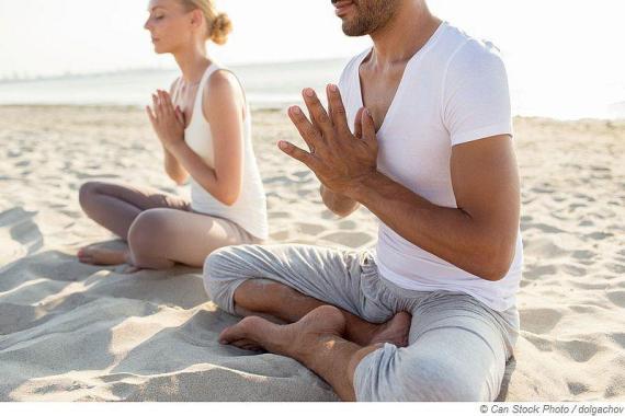 Yoga Musik in der Sauna