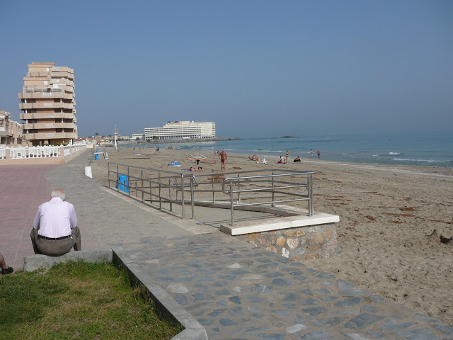 Beach, La Manga, Spain