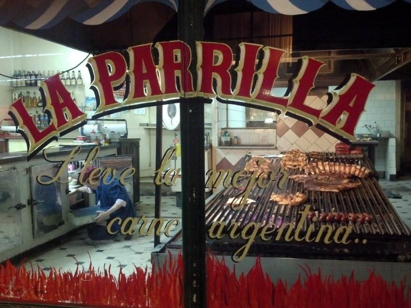 La Parrill on Junin in Buenos Aires.