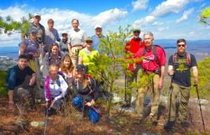 FSM Member only hike. Photo by Johanna H. Stern.