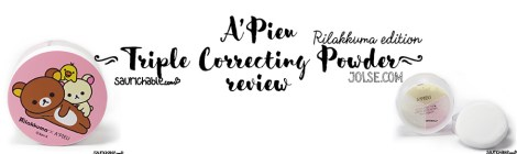 Review: A'Pieu Rilakkuma Triple Correcting Powder