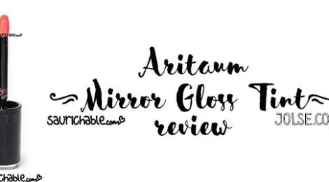 Review: Aritaum Mirror Gloss Tint