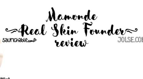 Review (acne skin): Mamonde Real Skin Founder