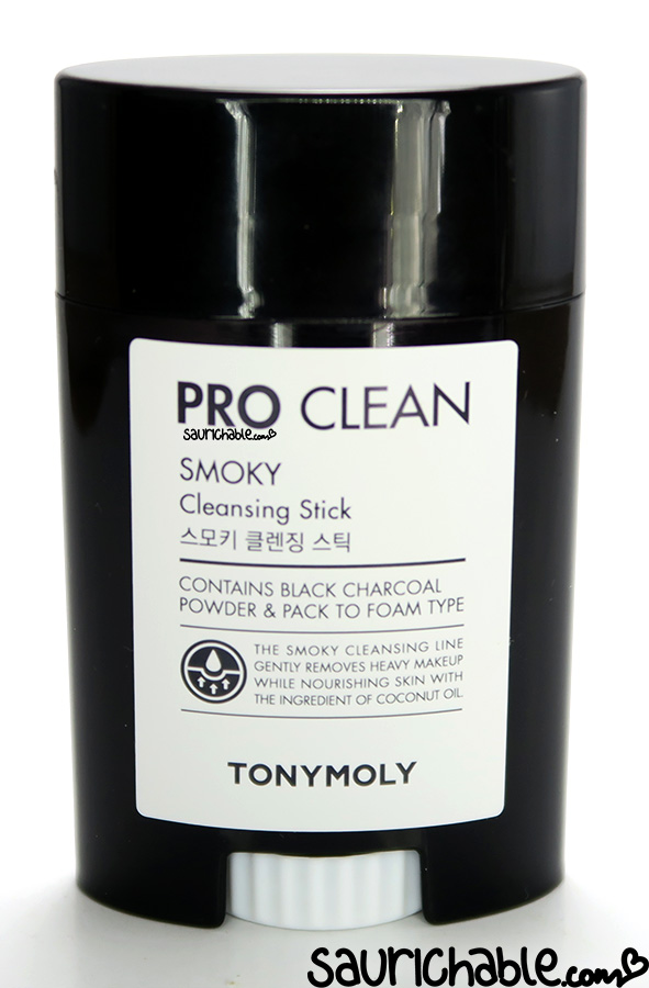 Tonymoly Pro Clean Smoky Cleansing Stick review