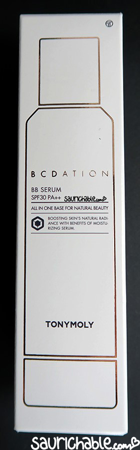 Tonymoly BCDation BB Serum review