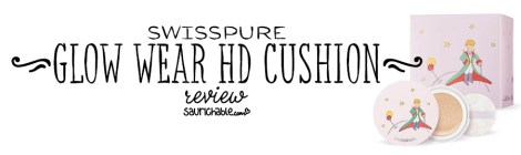 Review: Swisspure Glow Wear HD Cushion (Le Petit Prince)