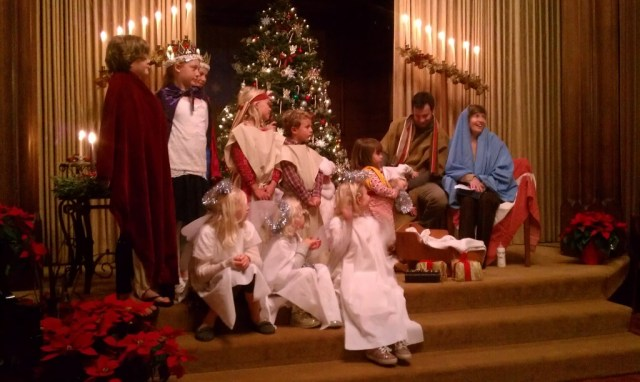 Kos, holy family Christmas Eve 2013 1