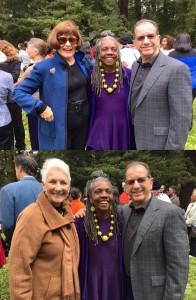 Jill, Arundhati, Steve from SFTS Grad PLUS Marti Cermak