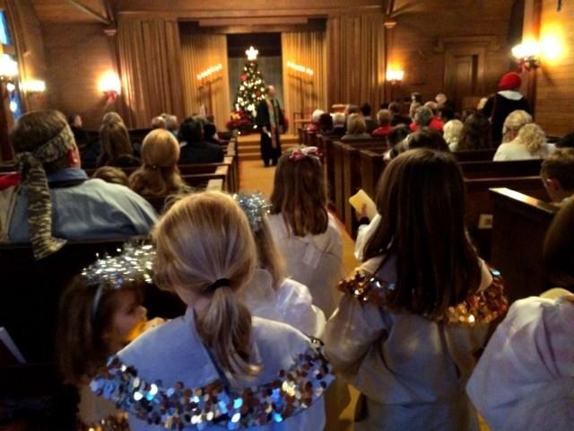 Christmas Family Service 2015 Janice 1