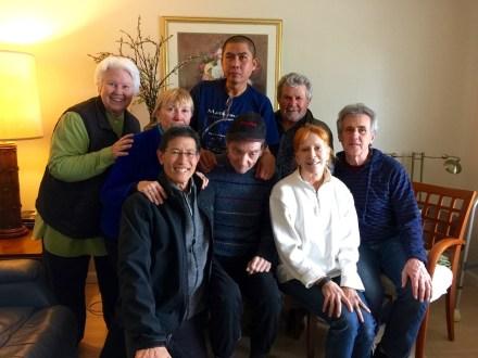 Visit to Don Francisco,George,Linda,Don,Marty,Sterling,Robin