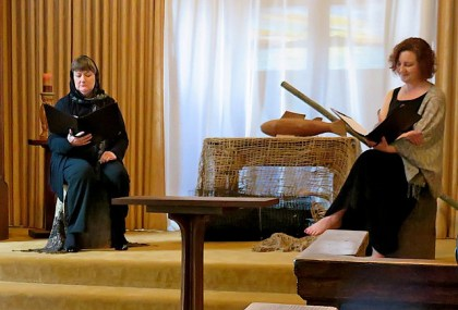 Spiritual Travelers 2 women March 5 IMG_0628
