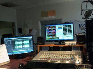 picture of the radio studio