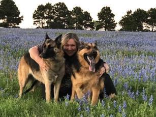 Karen & Pups