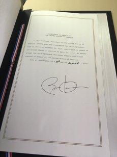 奧巴馬去年簽署的協議