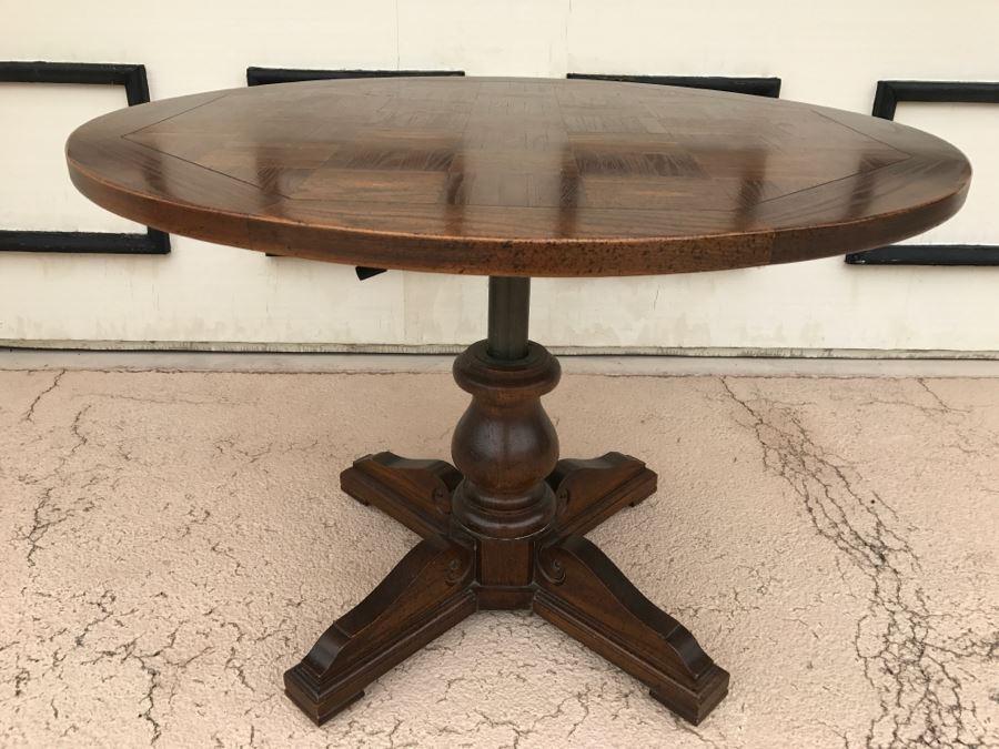 high low h lo adjustable pedestal table