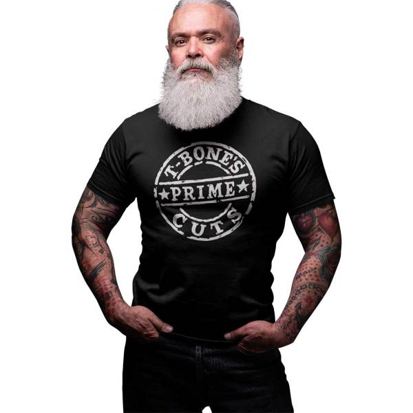 T-Bone's Prime Cuts Official T-Shirt