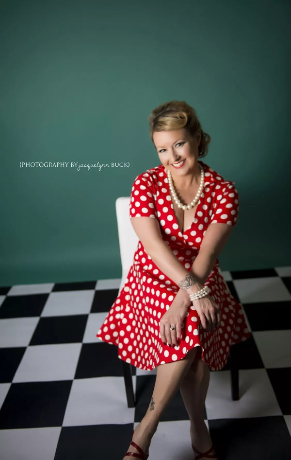 Flirtatious & Fierce Pin-up Looks Created With Primary Red ...