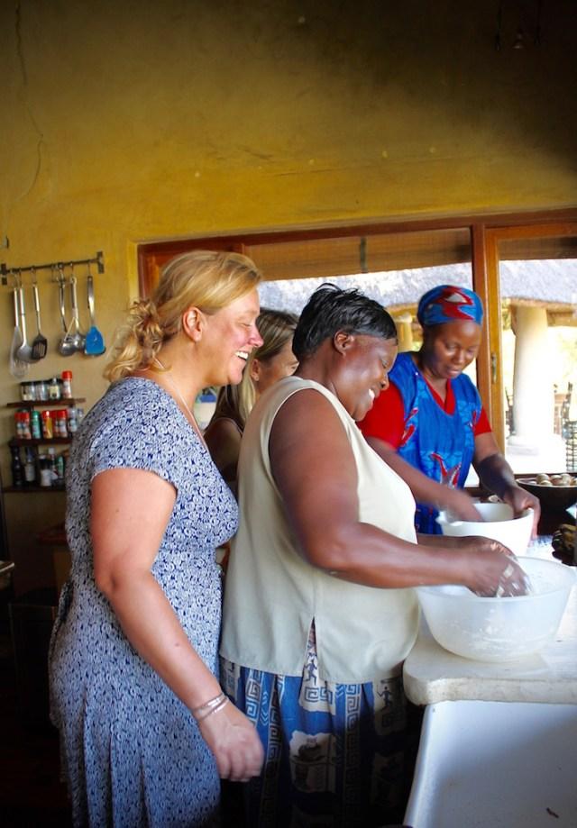 Lesson One: making ciabatta bread.