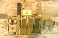 Ballistic Plate Carrier With Ammunition Pouches