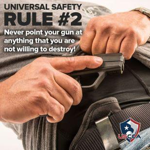 Firearms Safety Rule 2