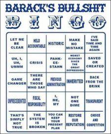 barack obama bullshit bingo