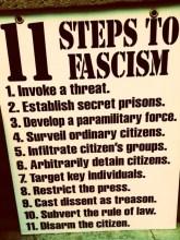 Eleven Steps To Facism