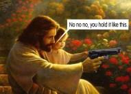 gun nut jesus