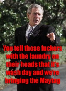 george bush funny meme