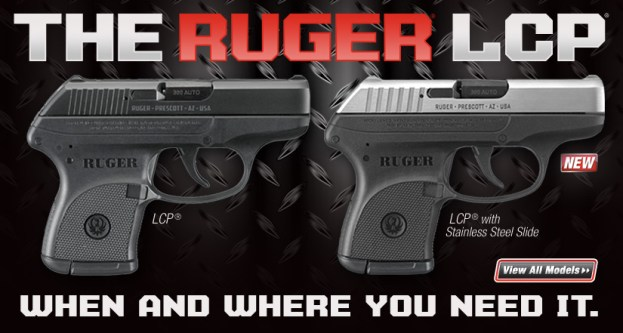 ruger lcp magazine ad