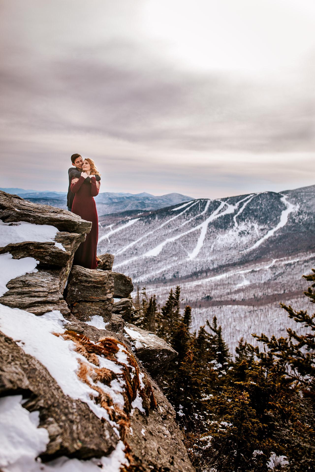 Vermont adventure elopement