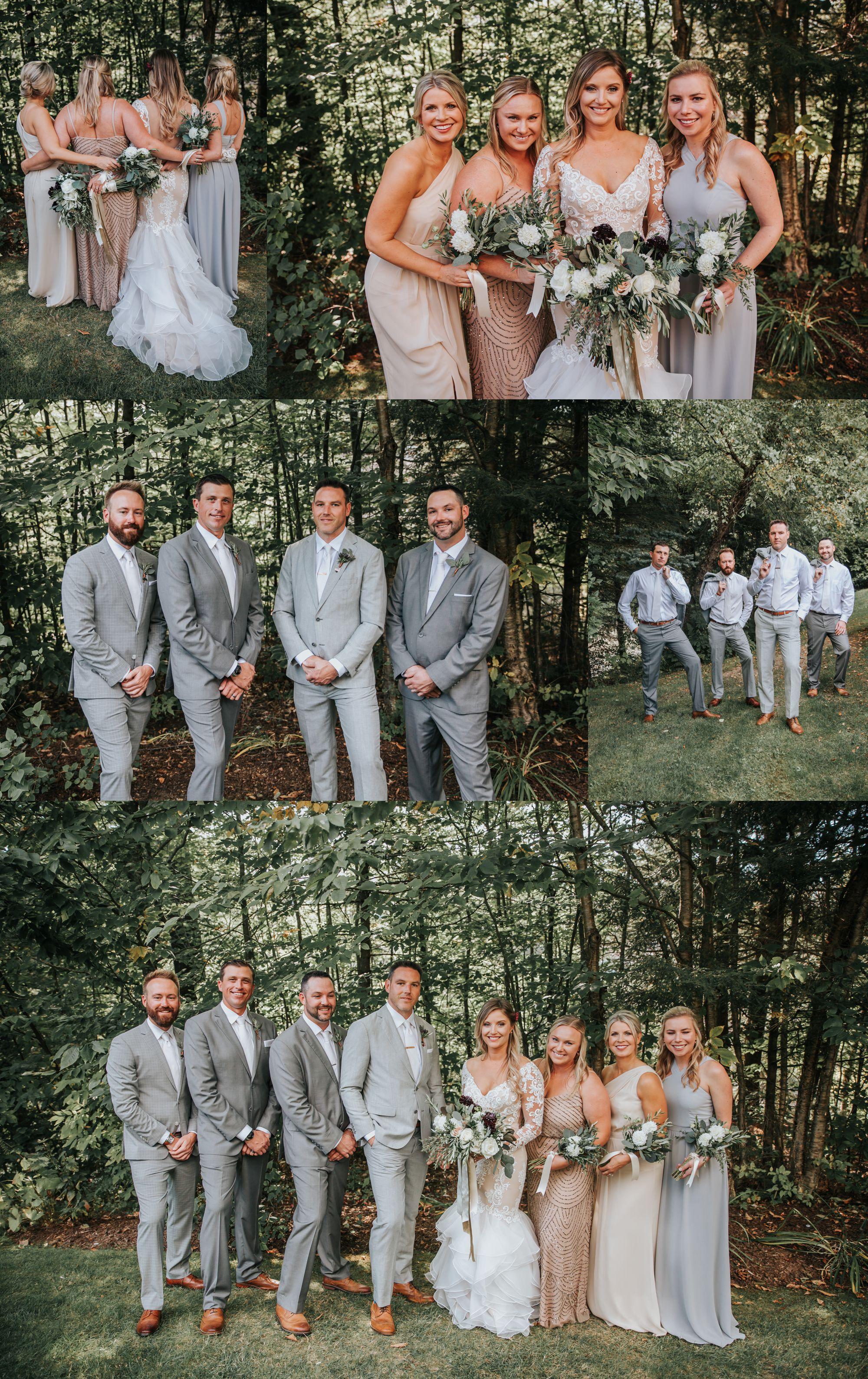 Vermont Bridal Party