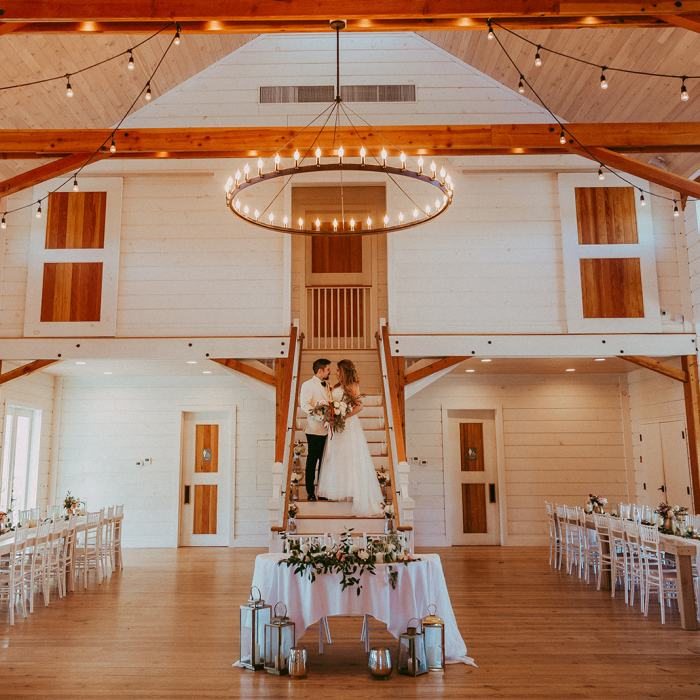 Barn at Smugglers Notch Wedding Couple