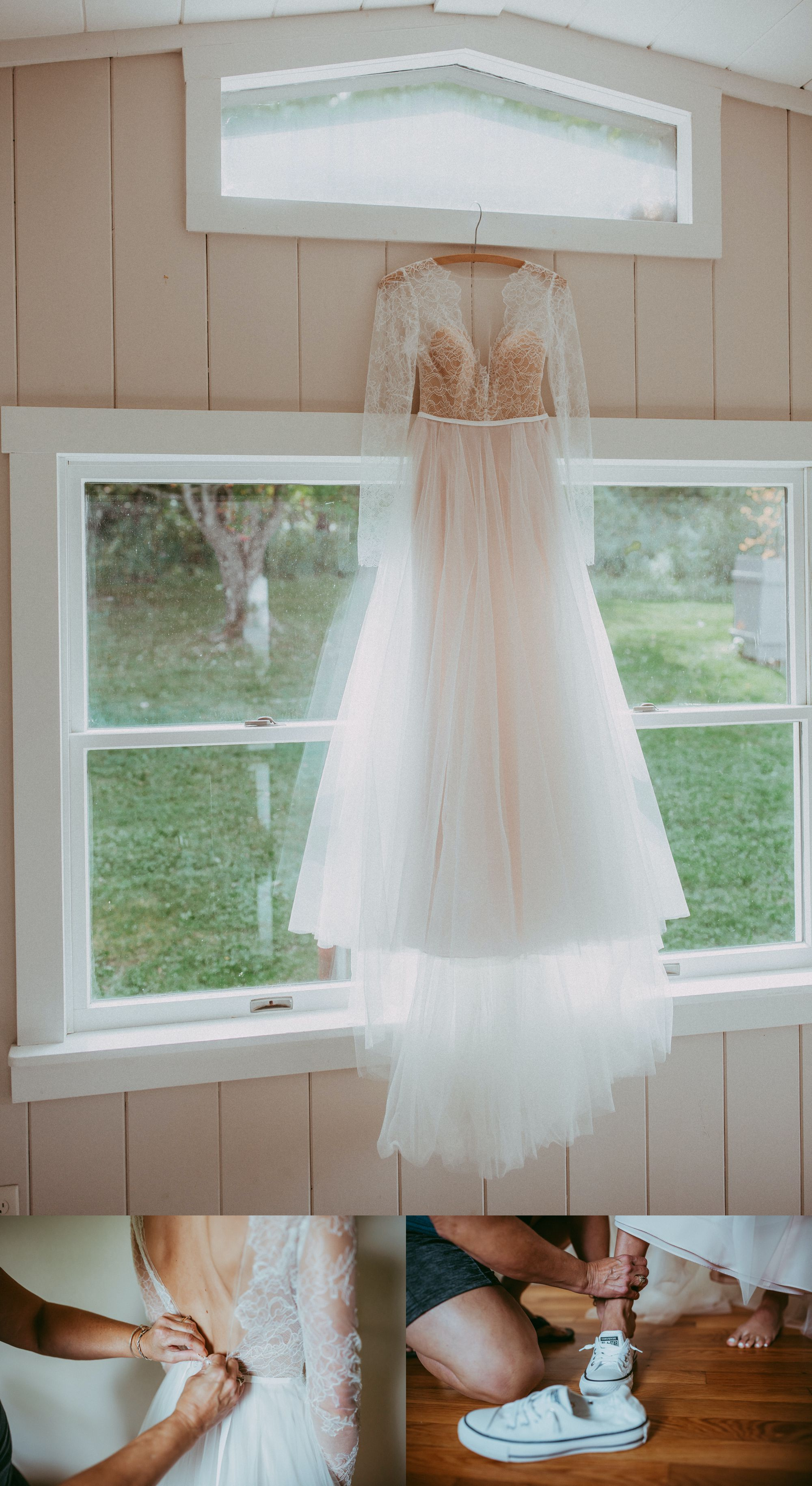 Mt Mansfield Wedding Dress