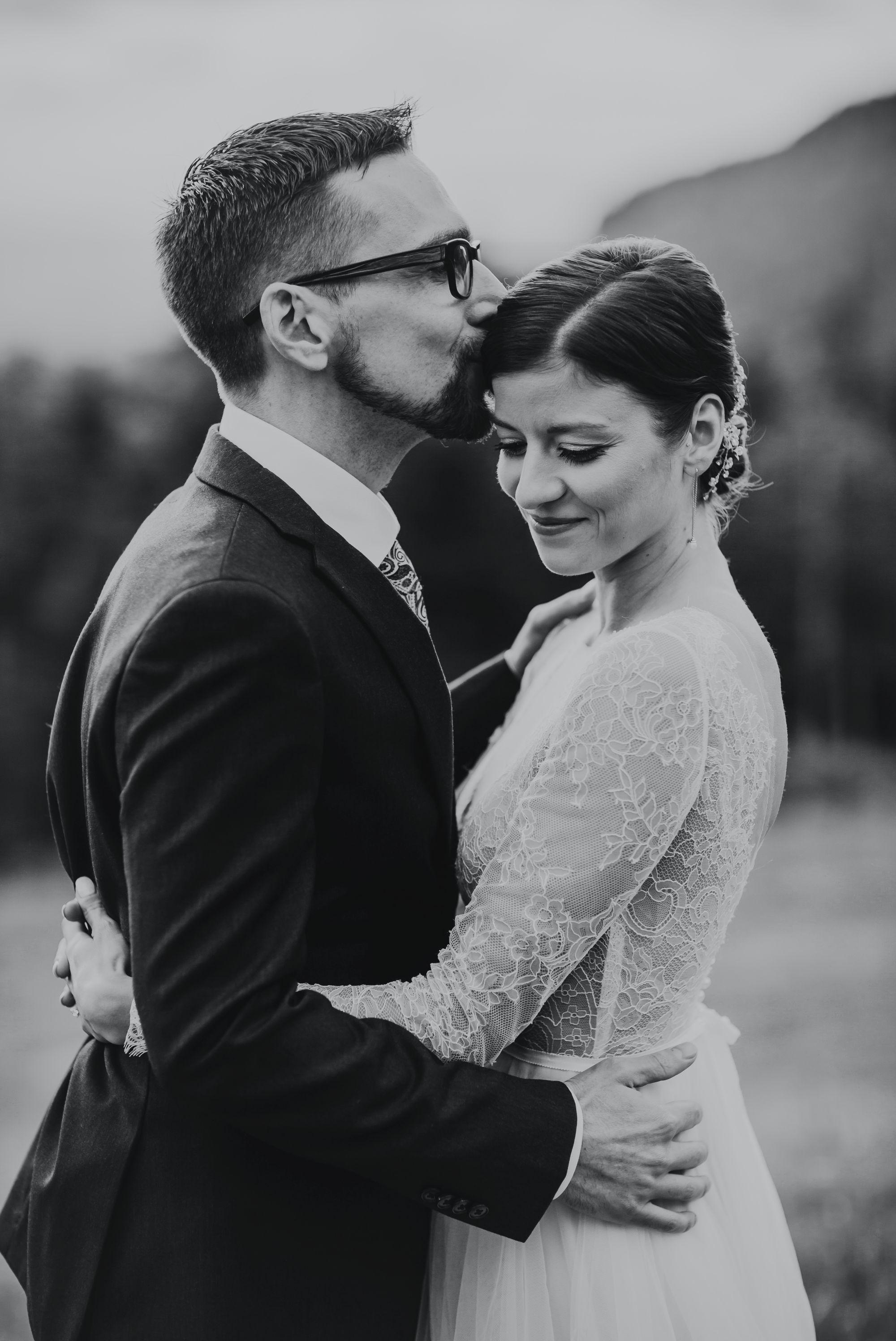 Mt Mansfield Wedding Bride and Groom Love
