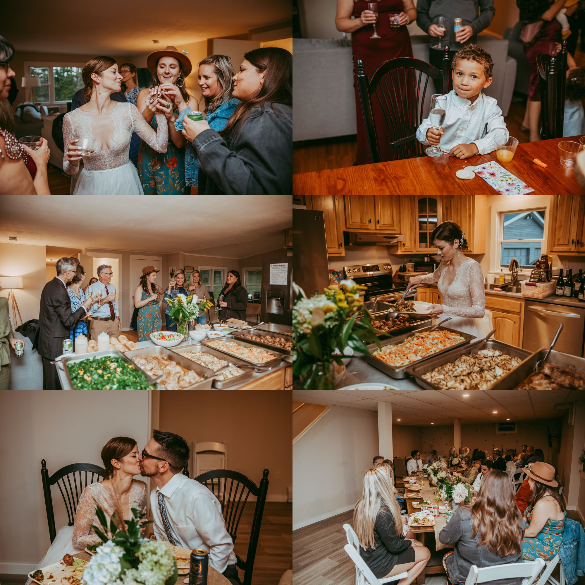 Mt Mansfield Wedding Details Reception Celebrate