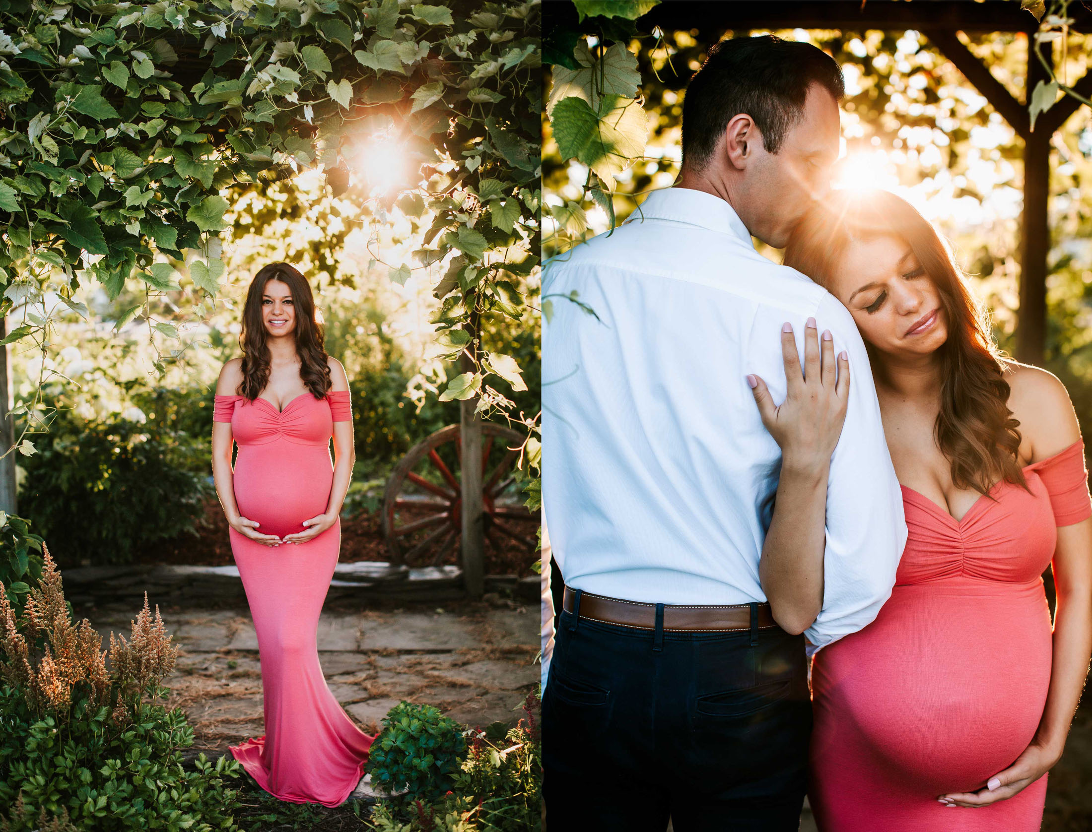 Vermont Maternity Session SunFlare