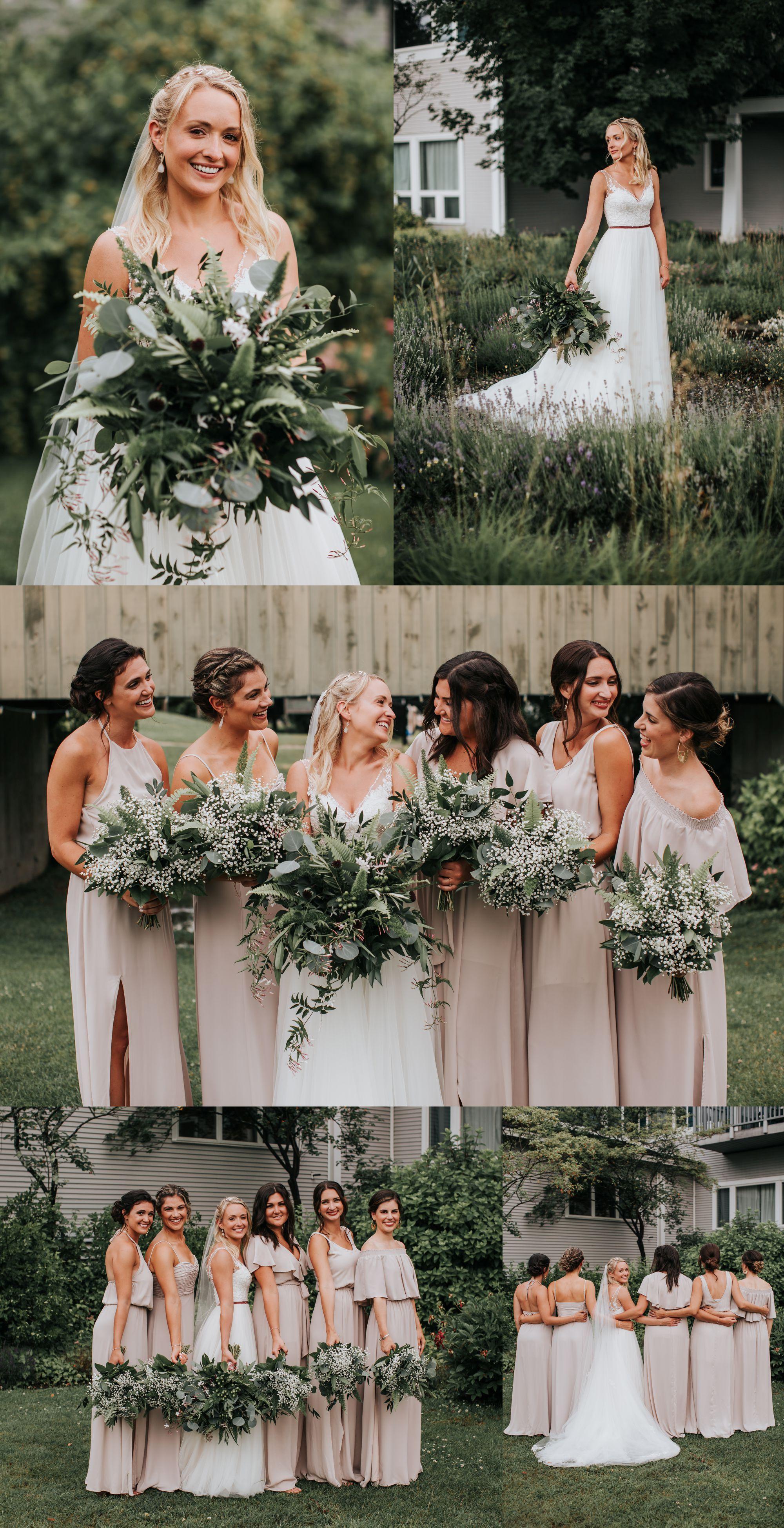 Stoweflake Bride and Bridesmaids