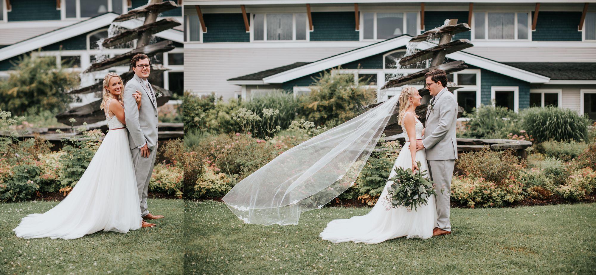 Bride and Groom Stoweflake