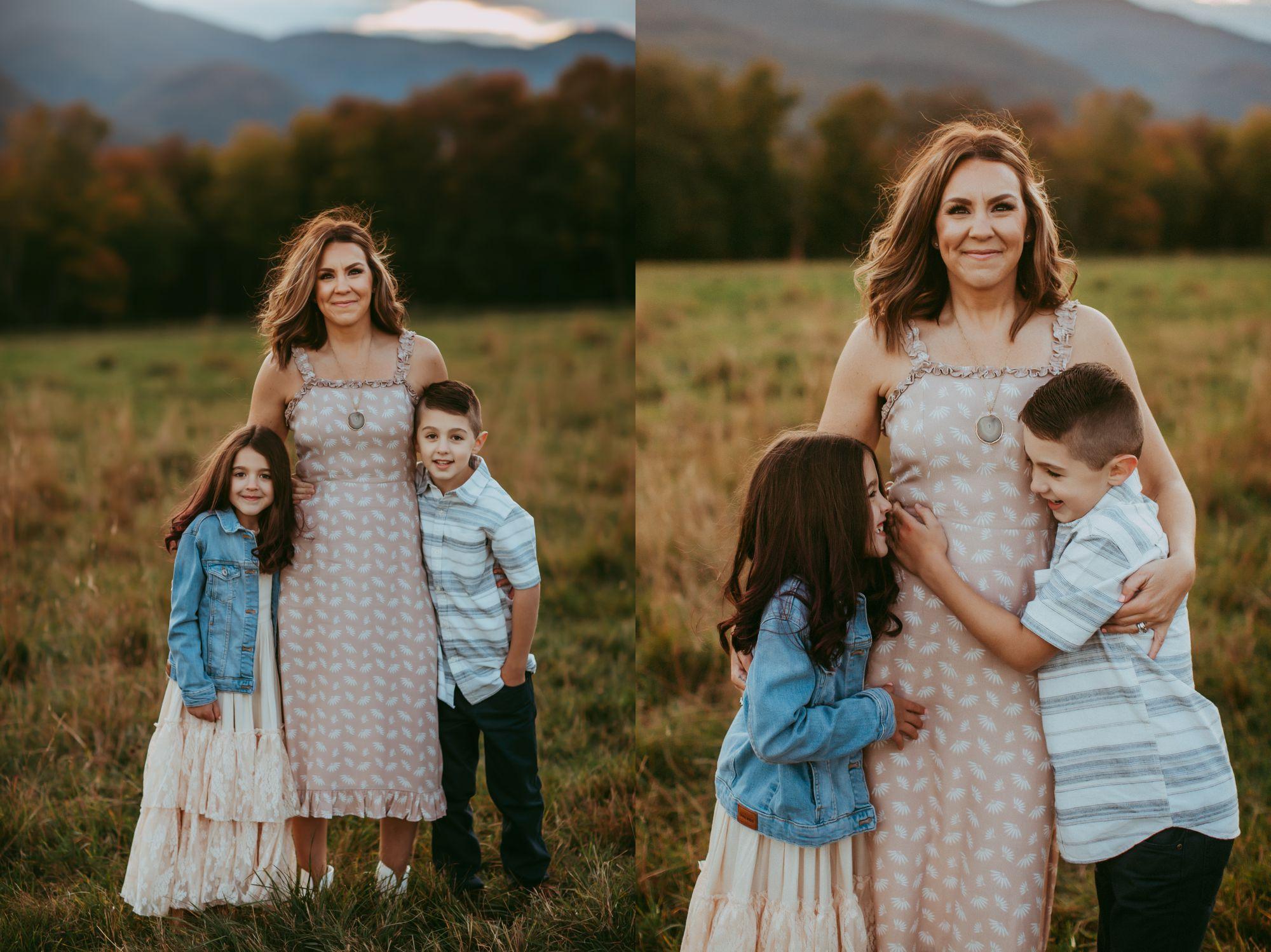 Mom and Kids Trapp Lodge