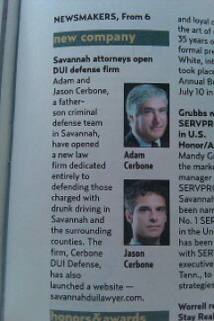 Savannah attorneys open DUI defense firm